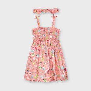 Mayoral dress 03954 smock dress roze