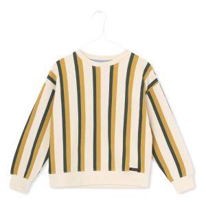 A MONDAY trui 271 louis cream stripe