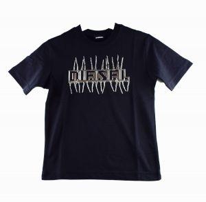 Diesel Tshirt  00J4Y2 justj11 zwart