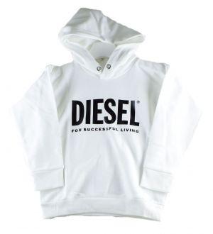 Diesel sweat  00J4PP division logo wit