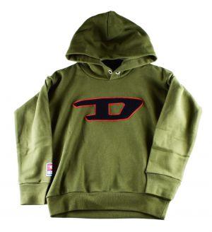 Diesel Hoody 00J4LC  sdivision khaki