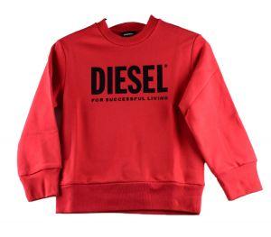 Diesel sweat  00J4PQ crewdivision rood