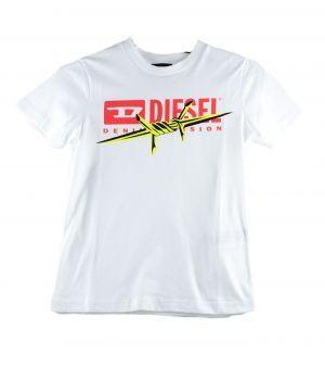 Diesel Tshirt  00J4YG diegobx2 wit