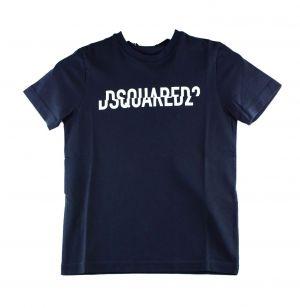 Dsquared2 Tshirt  DQ046U Relax  zwart