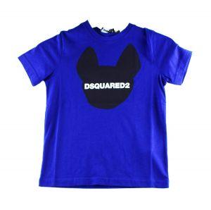 Dsquared2 Tshirt DQ048Z Relax kobalt