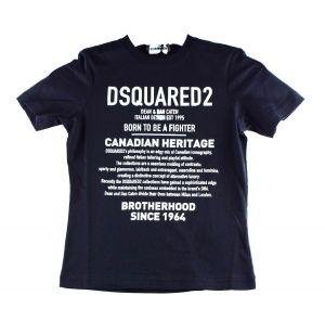 Dsquared2 Tshirt  DQ046W D2T579M  zwart