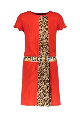 FLO Dress F004-5875 rib dress
