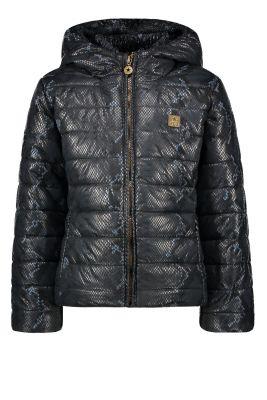 Flo Hooded  jacket F007-5230  navy
