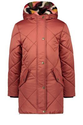 Flo Hooded  jacket F007-5240 Rust