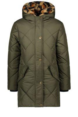 Flo Hooded  jacket F007-5240 Arrmy