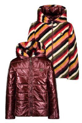 Flo reversible  jacket F007-5250 stripe