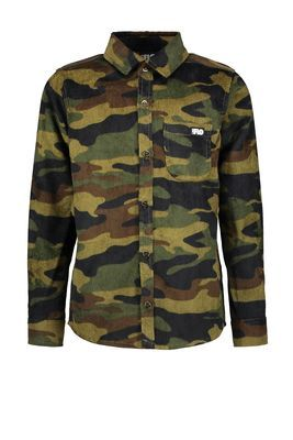 FLO boys blouse F008-6101 camouflage