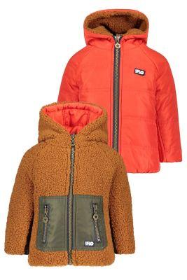 Flo baby reversible jacket F008-8200Cognac