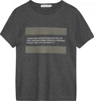 Calvin Klein tshirt IB0IB00602 est 78 zwart