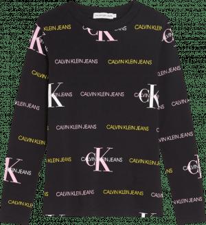 Calvin Klein Lsleeve IG0IG00560 black logo