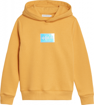 Calvin Klein hoody IG0IG00690 badge geel