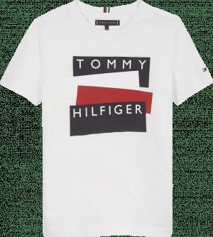 Tommy Hilfiger Tshirt KB0KB05849 Wit