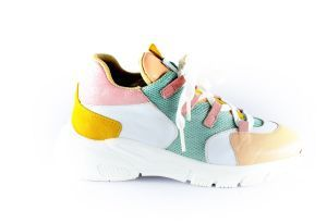 Clic sneaker CL-9855 rose mint