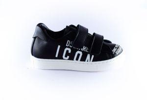 Dsquared2 sneaker 64954 zwart logo