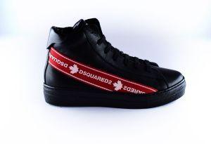 Dsquared2 sneaker 65138 rood logo tape