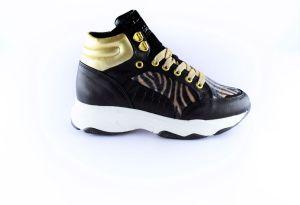 Hip Sneaker H1945-10CO-AC  Zwart A