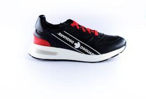 Dsquared2 sneaker  65124   logo tape zwart