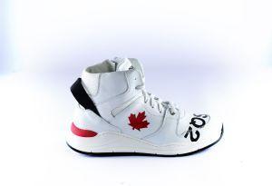 Dsquared2 sneaker 65159 wit rood leaf