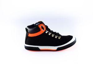 Freesby sneaker 2342 Zwart oranje