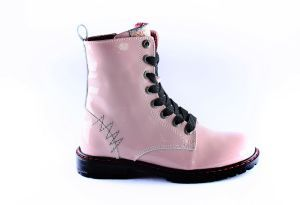 Red Rag Bootie 12084 Old Pink