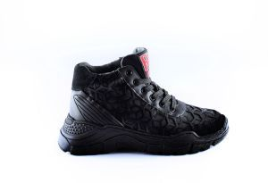 Red Rag sneaker 13225  zwart
