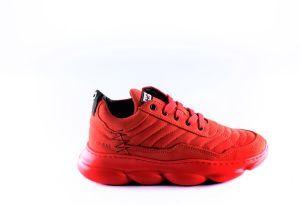 Red Rag sneaker 13333 Red combi
