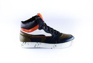 Rondinella sneaker 11853-A Zwart orange