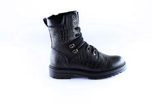 Hip Bootie H1996-10CR-10LE-00 Croco zwart