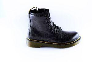 Dr Martens bootie 25652001 black kreuk lak