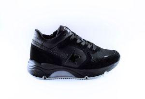 Hip Sneaker H1976-10SU-10LE  Zwart