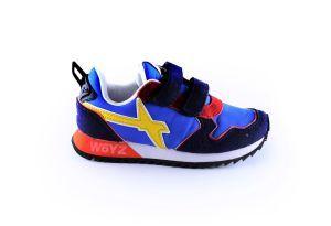 Just say Wizz sneaker 1C53 blauw/rood