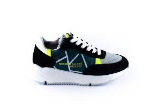Giga sneaker G3684 Zwart Grijs