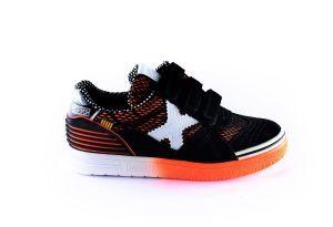 Munich sneaker 15141189 oranje zwart wit x