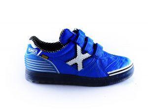 Munich sneaker 1514183 kobalt wit x