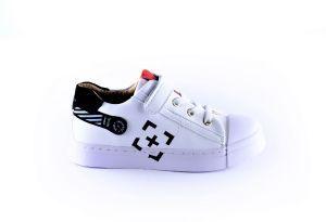 Shoesme Sneaker SH21S012-B wit/zwart