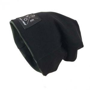 Beanie reversable 201060-zwart