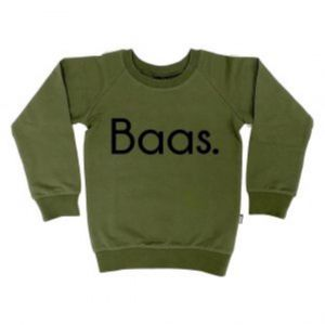 KMDB sweater 05800 Baas in zwart