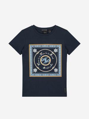 Nik&NikNo Risk Tshirt G8883-2004 Royal