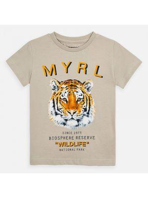 Mayoral wildlife tshirt 3052  Quinoa