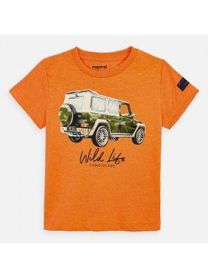 Mayoral vehicle tshirt 3071  Quinoa