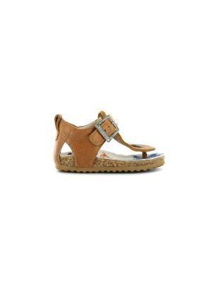Shoesme teenslipper sandaal  BI8S110-B Cognac