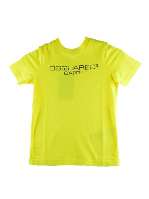 Dsquared2 tshirt DQ03WH-D00WY Geel