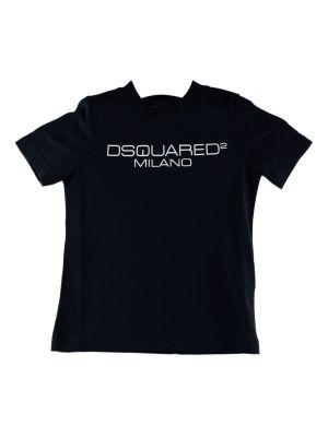 Dsquared2 tshirt DQ03WG-D00WY zwart