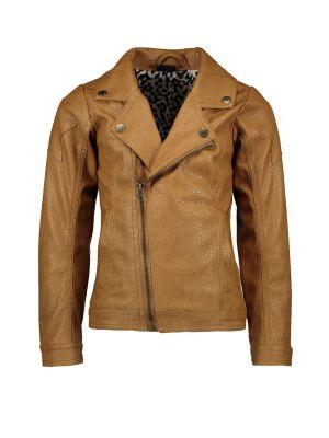 FLO biker jacket F002-5200 imi leather camel