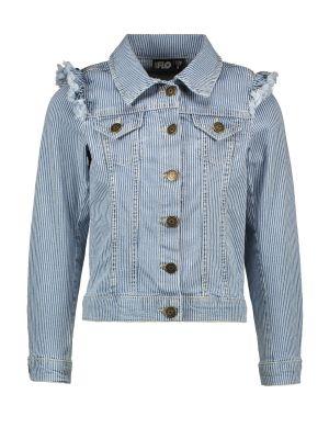 FLO jacket F002-5201 Jeans ruffle